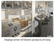 Sony- historic corner