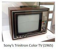 Sony- TV trinitoron