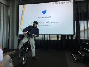 Bike experiment at Lean Startup Week - Talk from Philippe Boulanger
