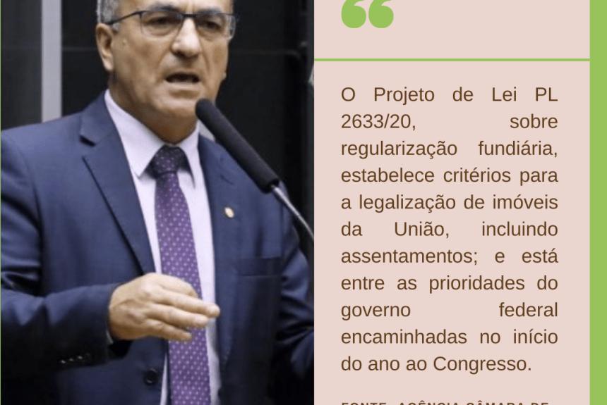 Comissão de Agricultura debate regularização fundiária