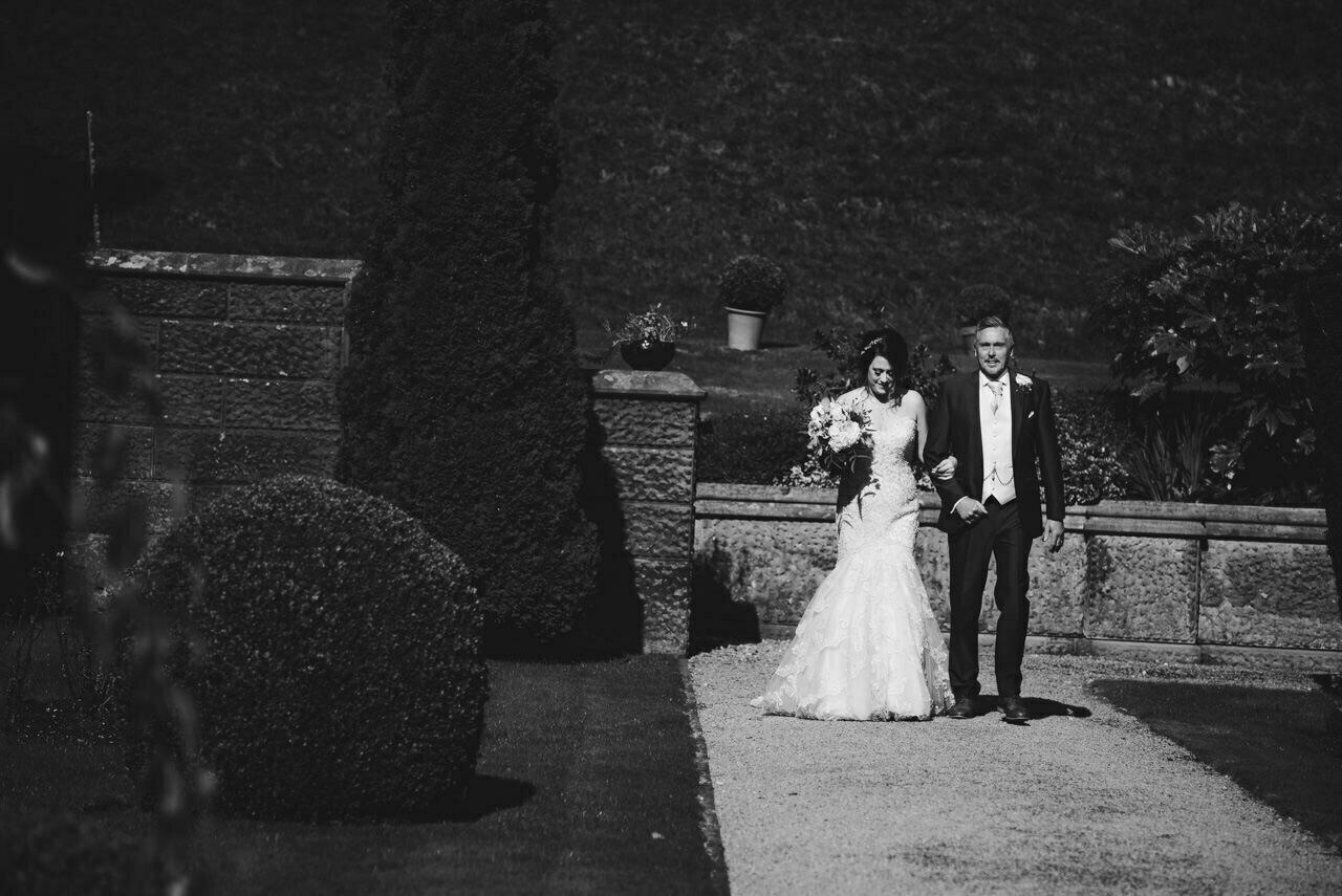 Cressbrook Hall wedding photography - Debbie and Martin 20