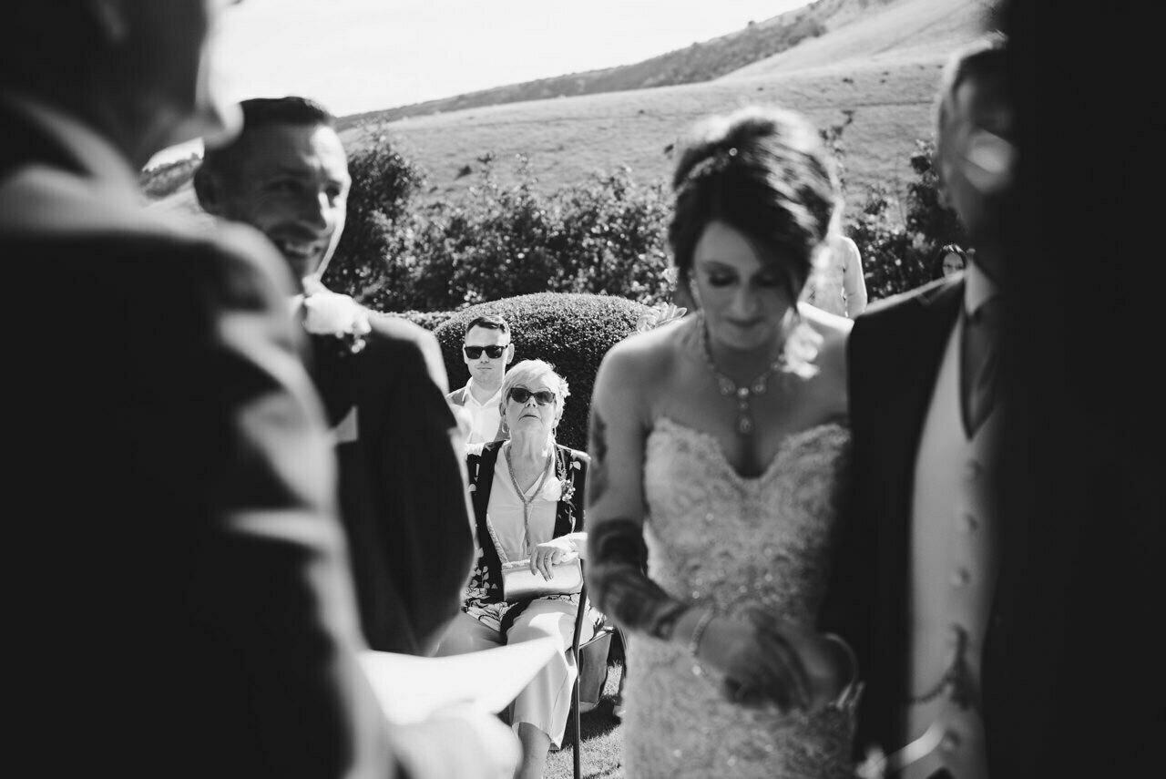 Cressbrook Hall wedding photography - Debbie and Martin 23