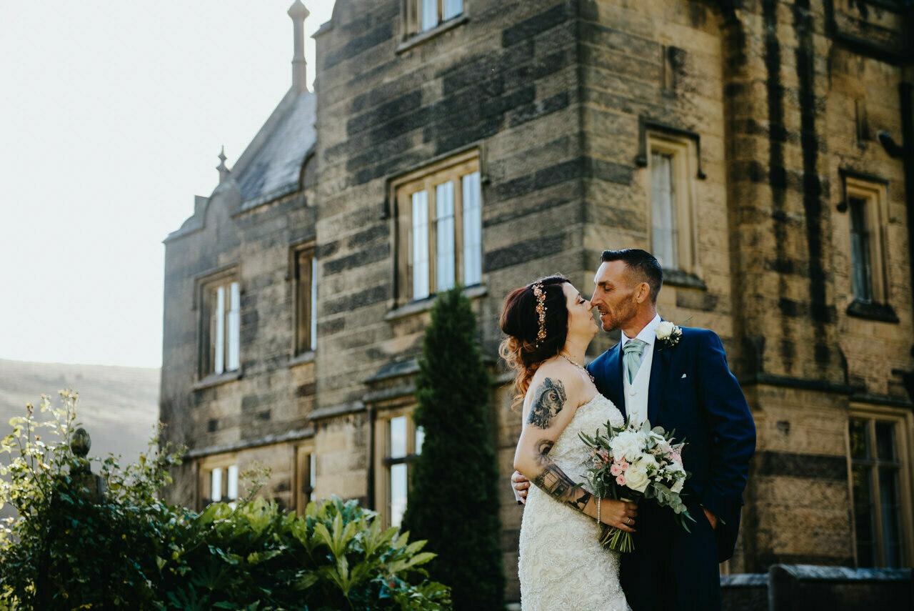 Cressbrook Hall wedding photography - Debbie and Martin 44