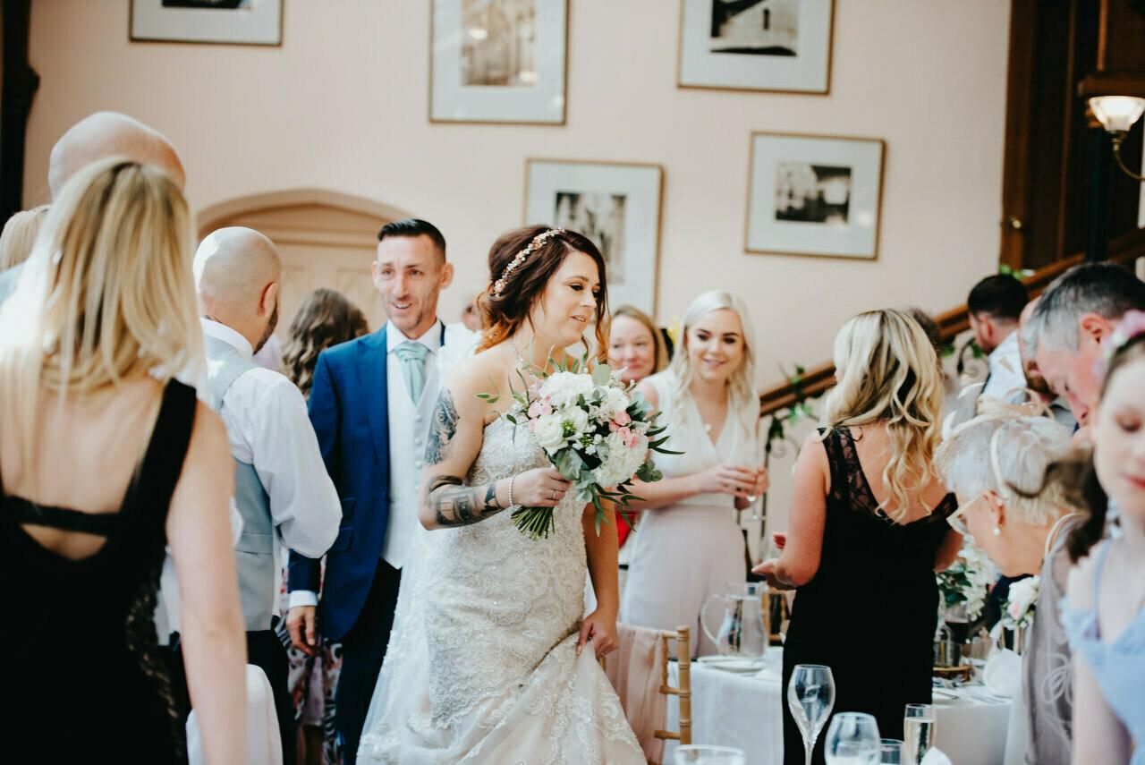 Cressbrook Hall wedding photography - Debbie and Martin 46