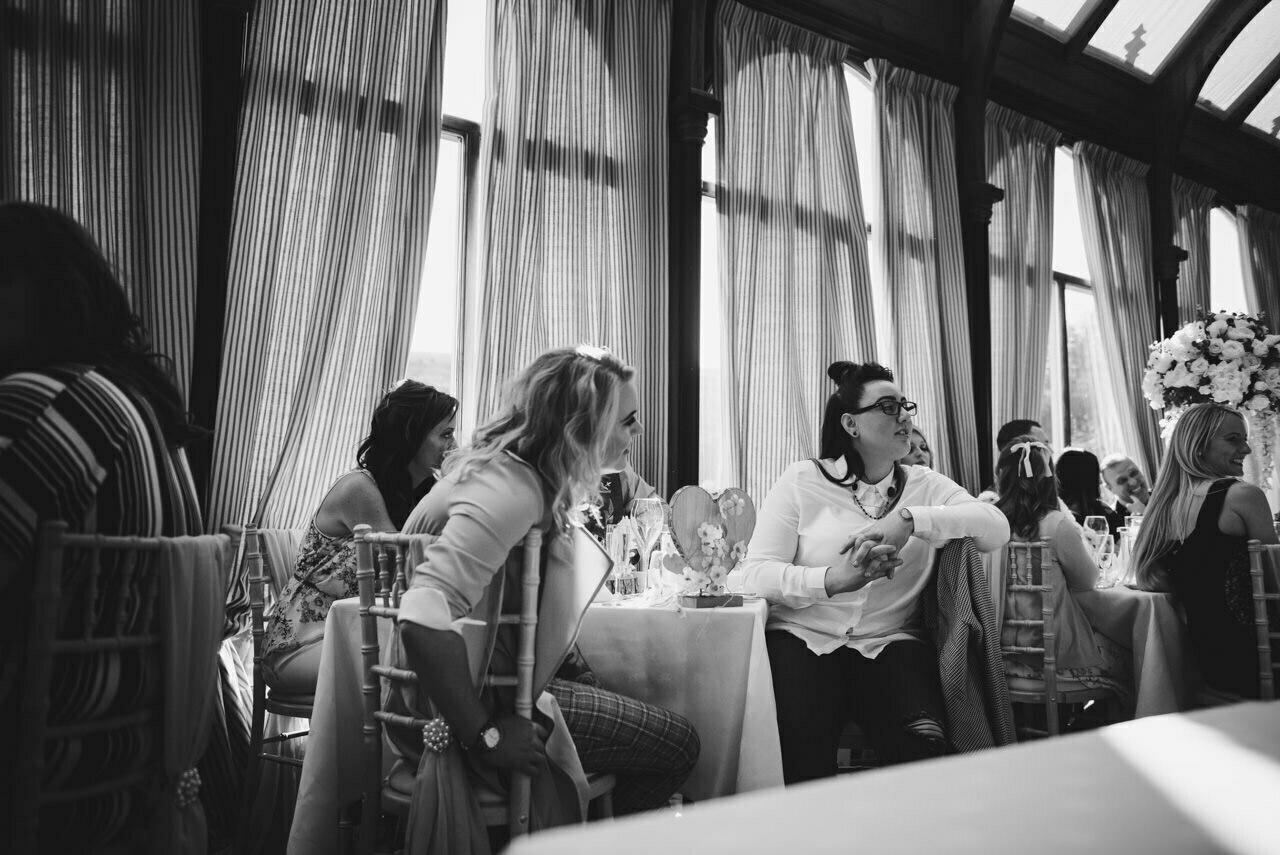 Cressbrook Hall wedding photography - Debbie and Martin 48