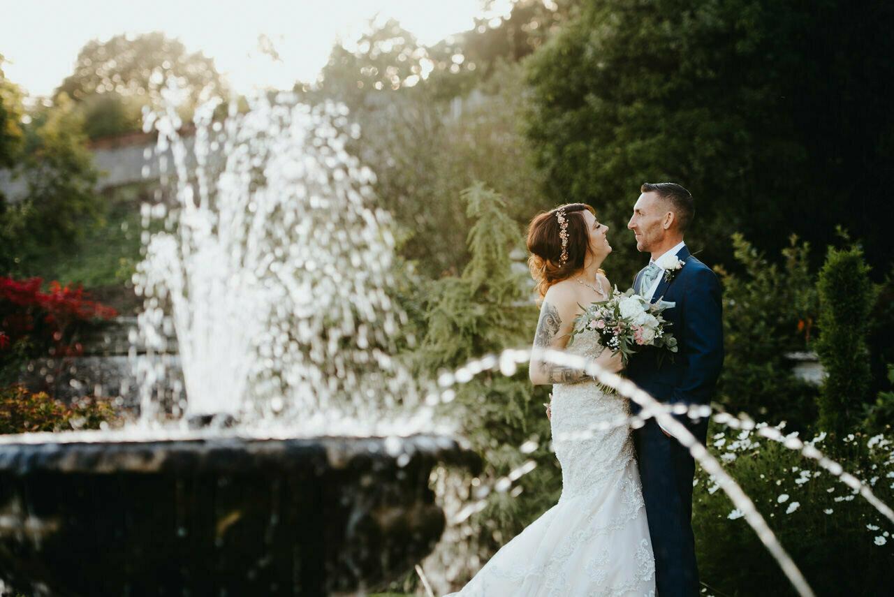 Cressbrook Hall wedding photography - Debbie and Martin 54