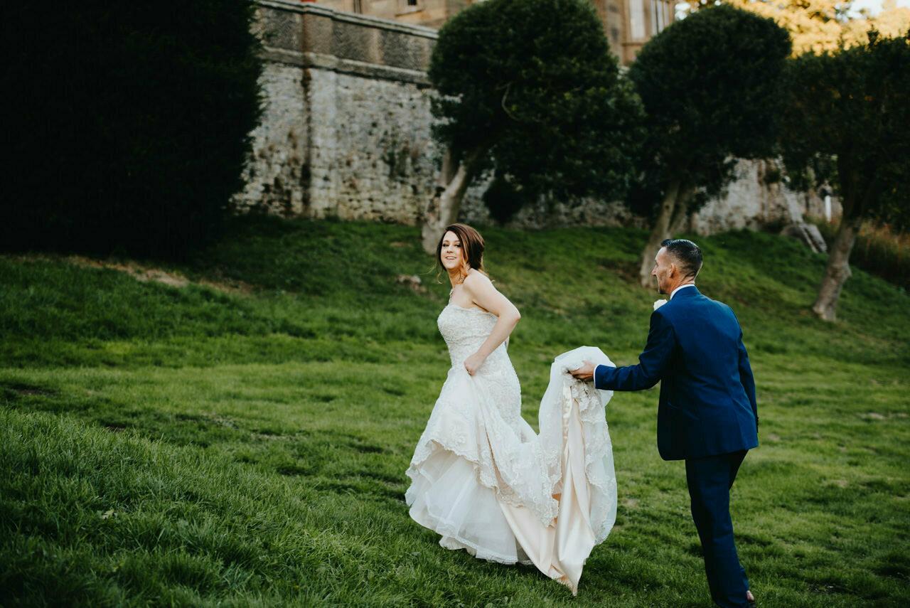 Cressbrook Hall wedding photography - Debbie and Martin 71