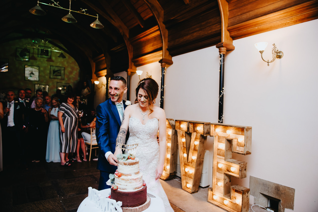 Cressbrook Hall wedding photography - Debbie and Martin 85