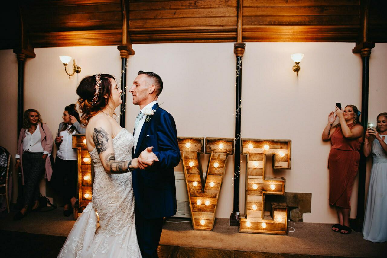 Cressbrook Hall wedding photography - Debbie and Martin 87