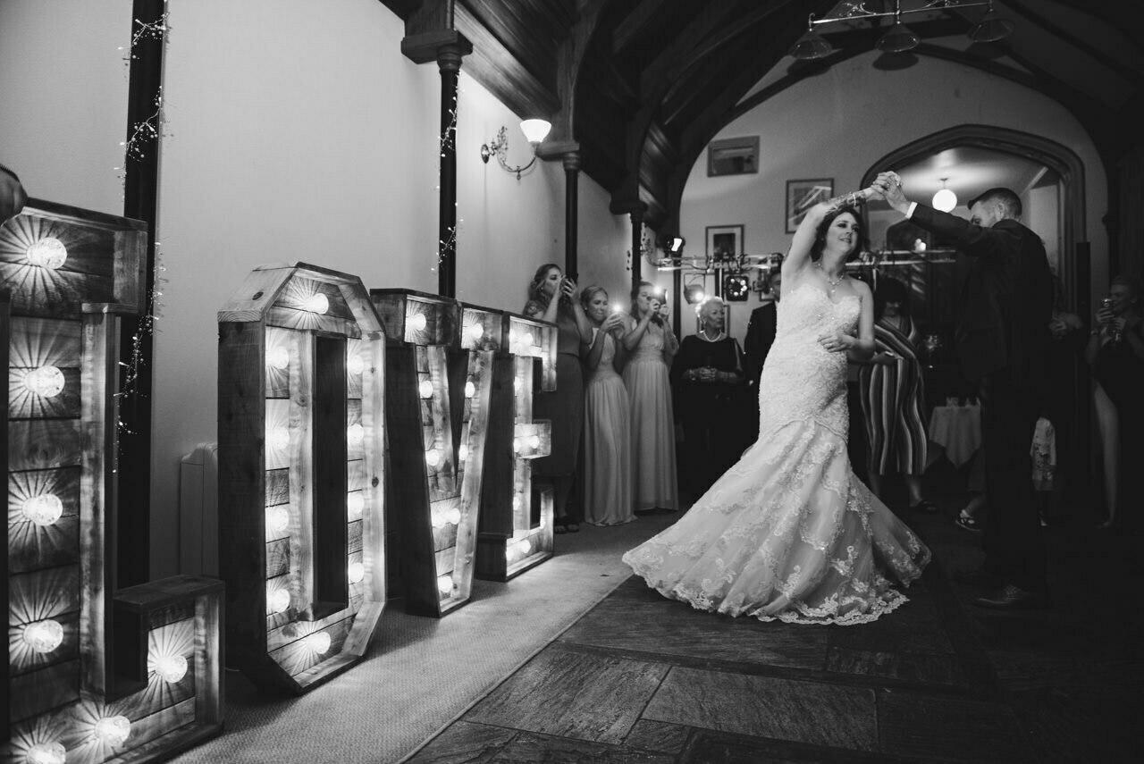 Cressbrook Hall wedding photography - Debbie and Martin 89
