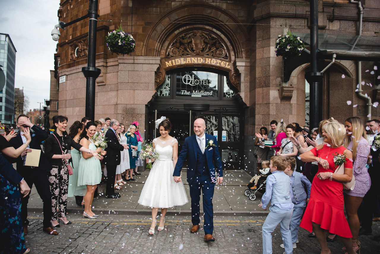 The Midland Hotel -Wedding Photography Manchester 21