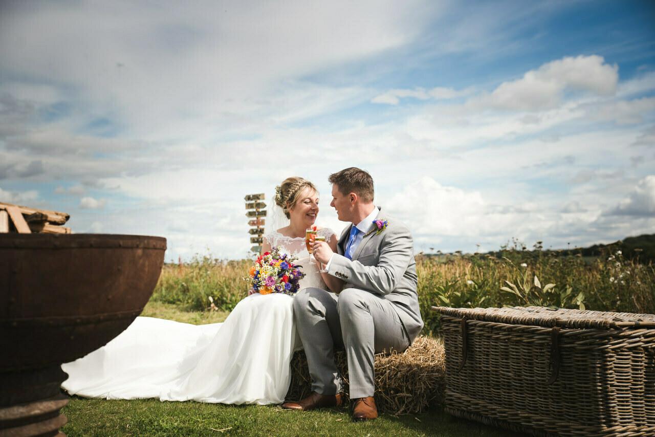 Rustic wedding at Wharfedale Grange-Yorkshire Wedding photographer 45