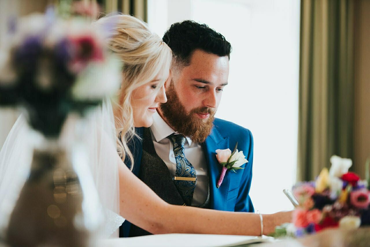Wedding photography at  Hollins Hall Hotel & Country Club, Bradford 26