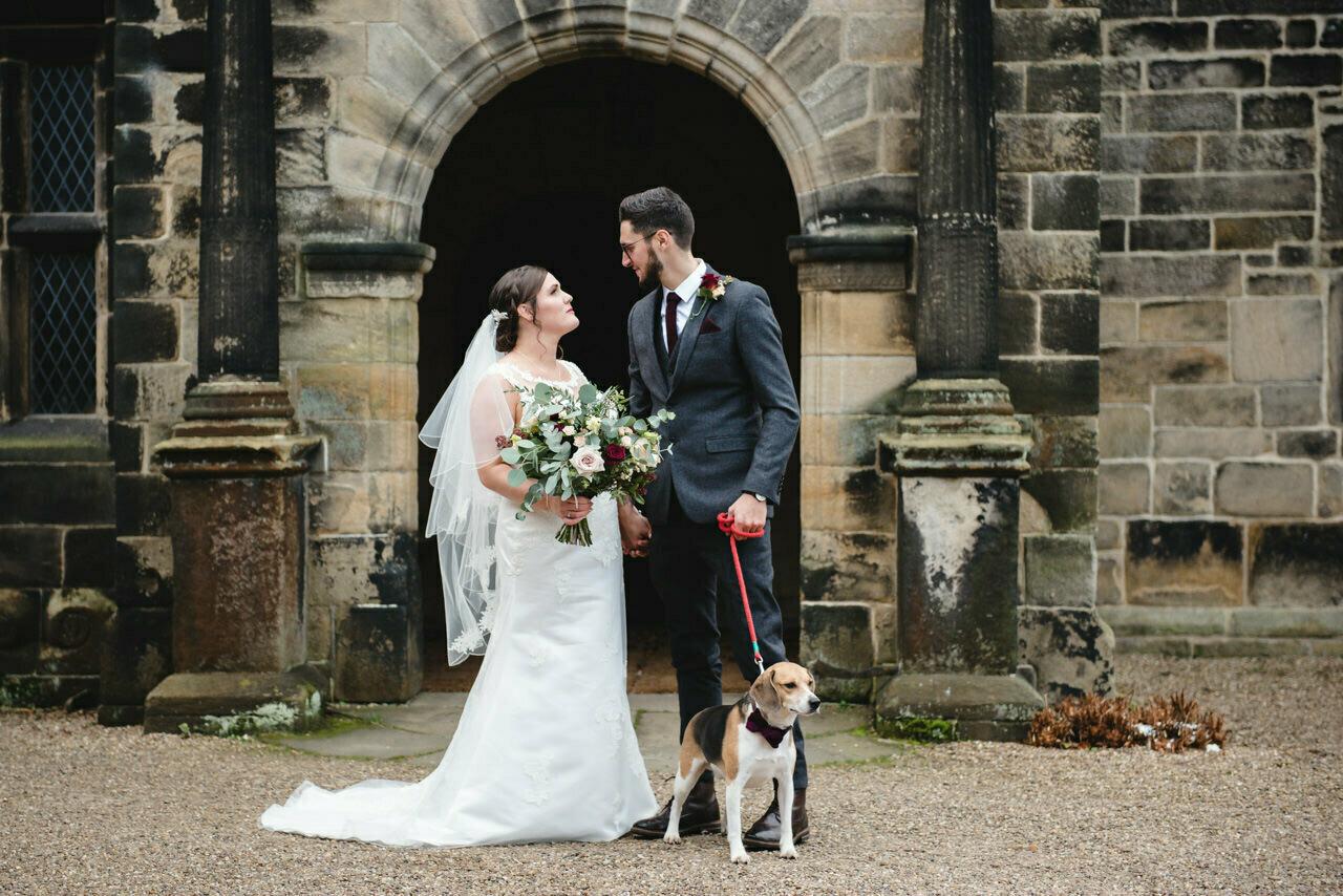 Wedding photography at East Riddlesden Hall Barn 26