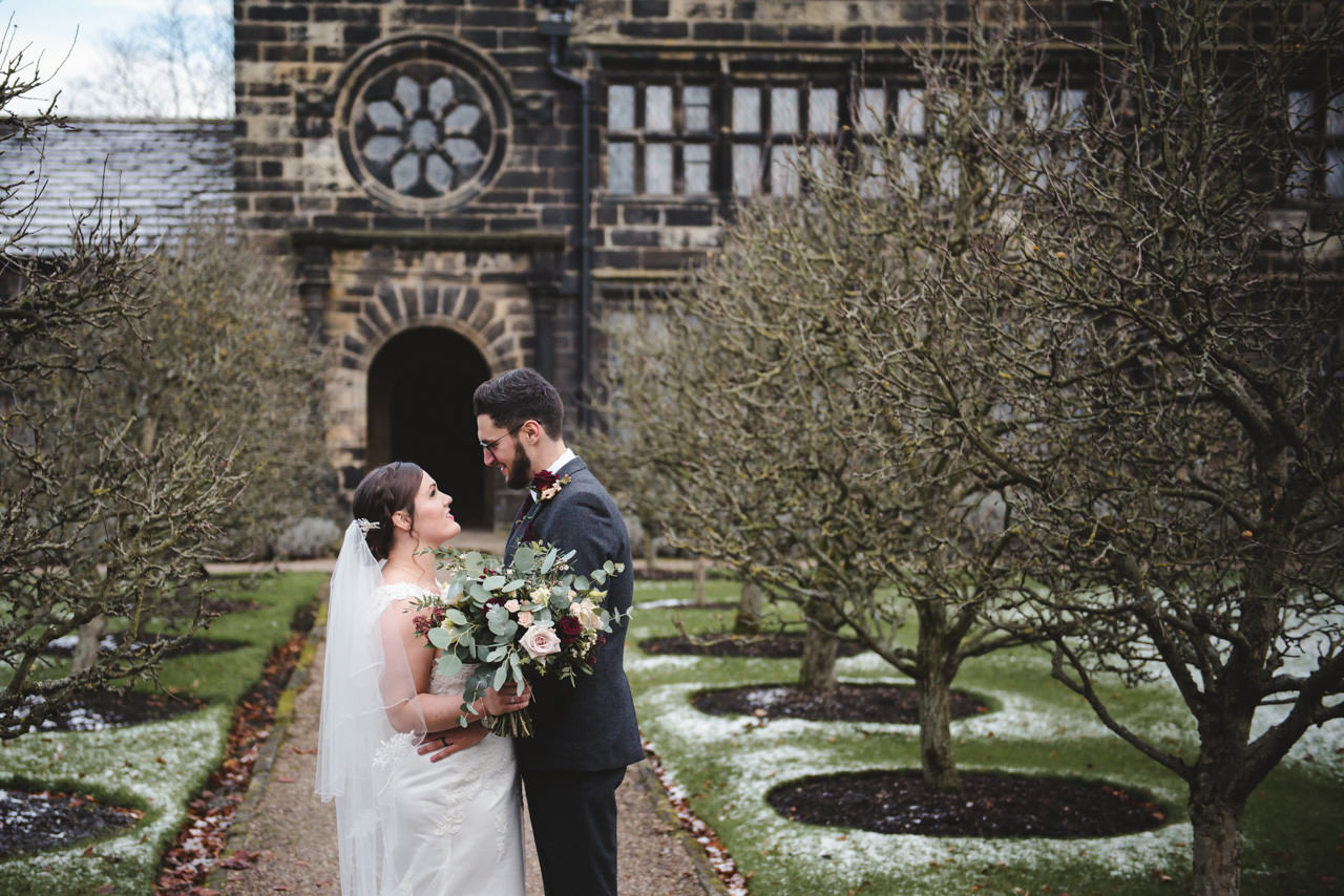 Wedding photography at East Riddlesden Hall Barn 33