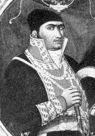 """El Generalísimo Morelos, siervo de la nación y autor de los """"Sentimientos de la nación""""."""