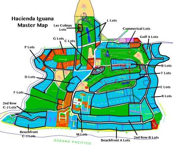 Iguana Lot Map