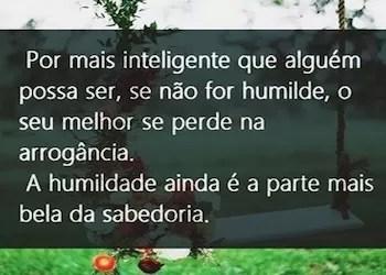 humildade e sabedoria