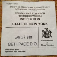 New York State Vehicle Registration And Inspection By Triborough