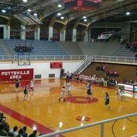 Martz Hall - College Basketball Court in Pottsville