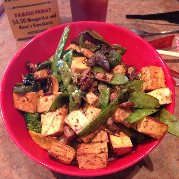 Image Result For Genghis Grill Allergy Menu