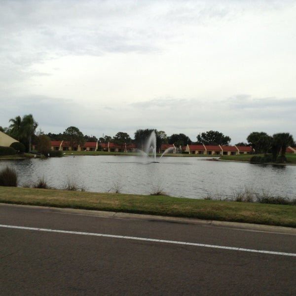 Lagoon Lake Orlando Splash Orange