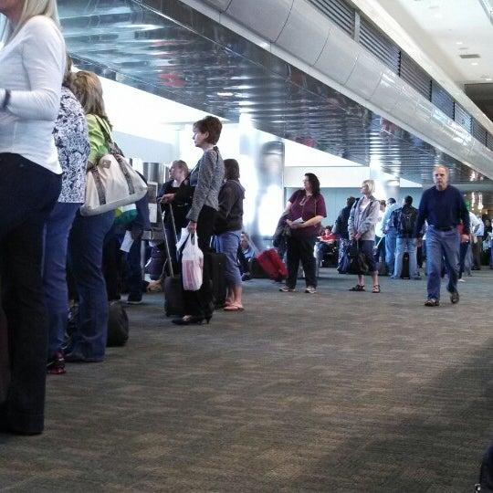 Gate A42 Flughafen Gate In Denver International Airport
