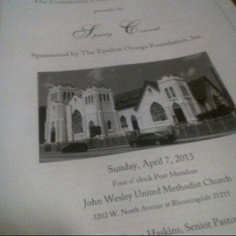 John Wesley United Methodist Church - Walbrook - 0 tips