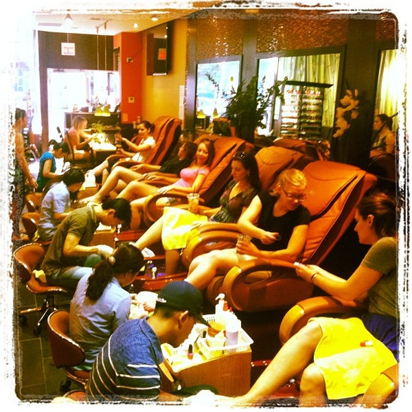Photo Taken At Kinzie Nail Spa By Lisa R On 8 24 2017
