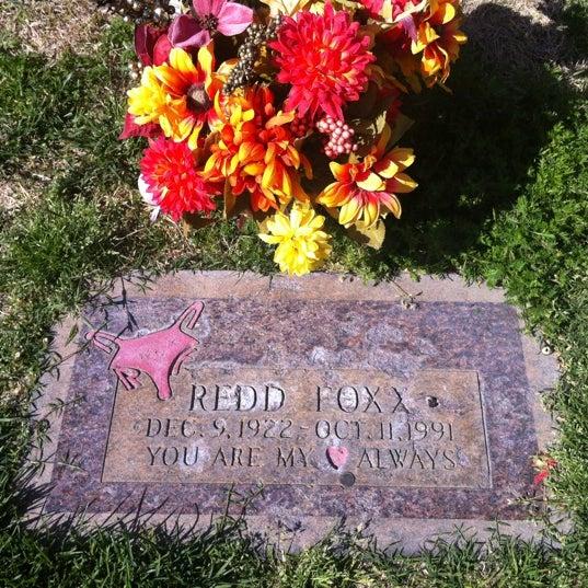Redd Foxx Grave Site - Cemetery in Henderson