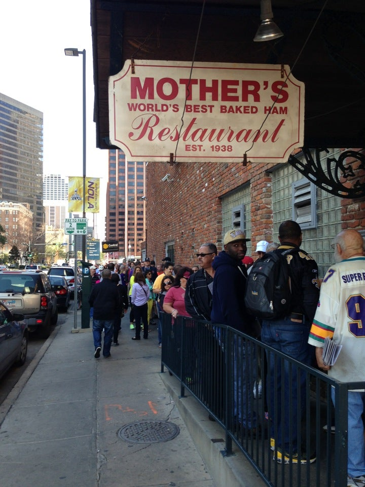 Mothers Restaurant At 401 Poydras St At Tchoupitoulas St