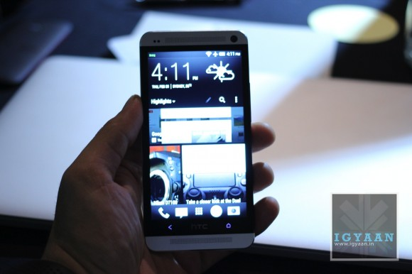 HTC One Hands On iGyaan 7