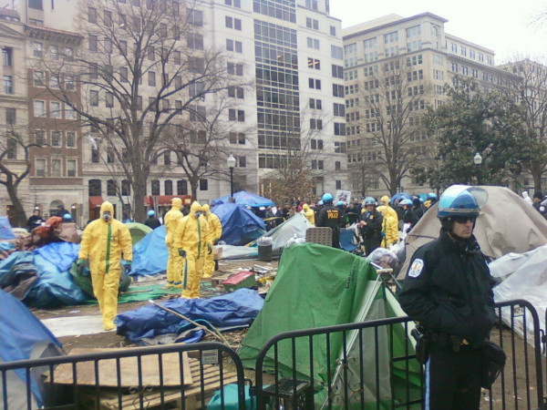 OWS cleanup