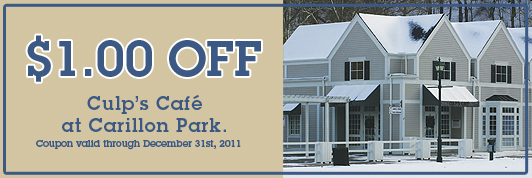 2011 Winter Culps Coupon