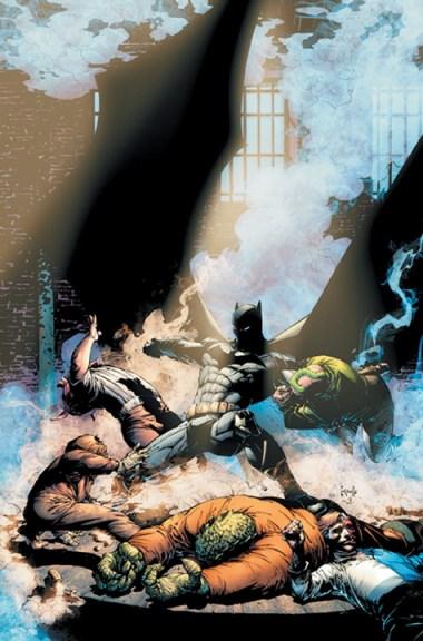 Capullo Batman Cover