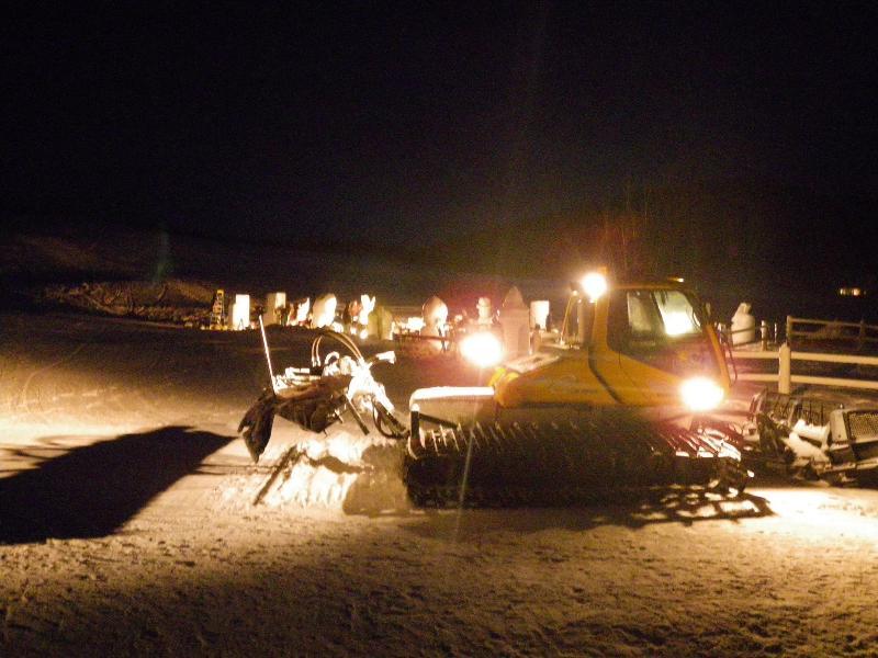 Black Mountain at Night