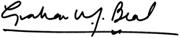 Graham Beal Signature