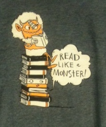 Read like a monster logo