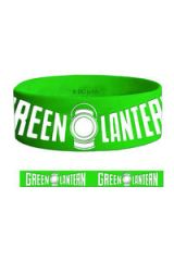 GREEN LANTERN MOVIE LOGO RUBBER BRACELET