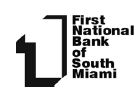 first national bank of south miami