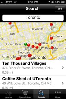 Social impact app