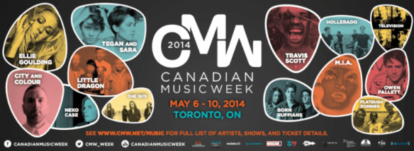 canadian music week, toronto, little dragon, tegan and sara, ellie goulding