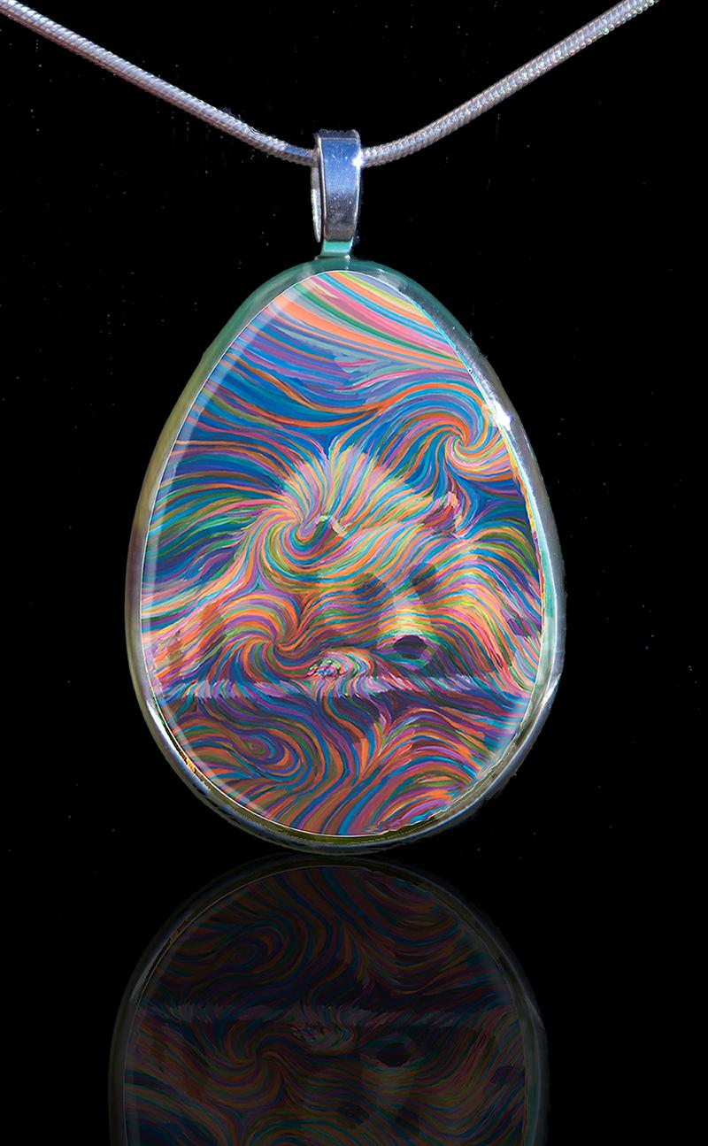 Bear Pendant Cleaned Up