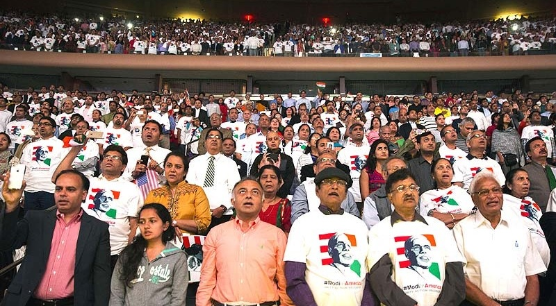 Audience at PM Modi's Community Reception in New York