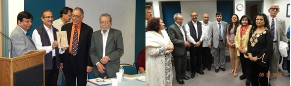 Book release at GOPIO Washington DC India Independence Day Program