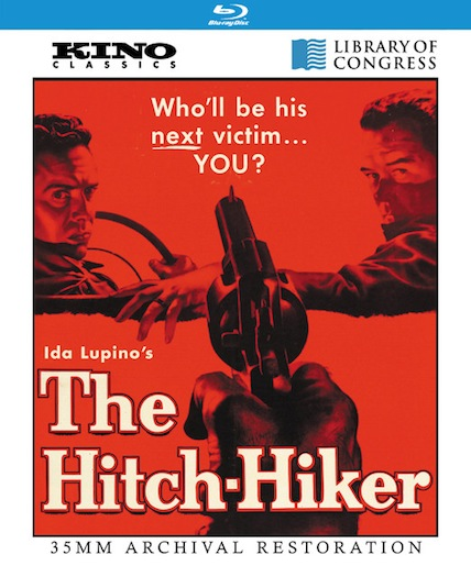 The Hitch-hiker Blu-ray cover art