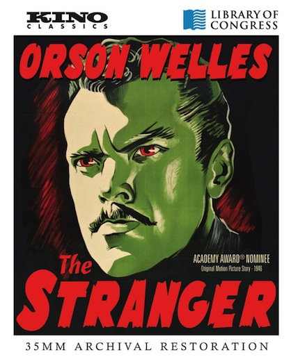 The Stranger Blu-ray cover art