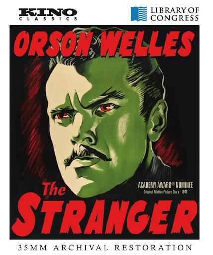The Stranger Blu-ray cover art