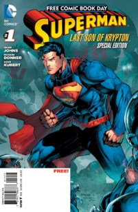 Superman FCBD by Kubert