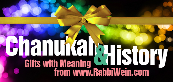 Chanukah and History banner